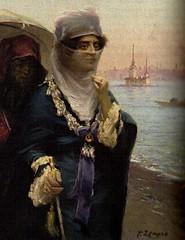 Portrait of an unknown Ottoman Lady (skaradogan) Tags: ottoman woman lady paintin osmanlı kadın hanımefendisi tablo resim painting tesettür modest dress muhafazakar eşarp başörtüsü headscarf türban hijab islamic hidschab حجاب veil tülbent peçe hanım
