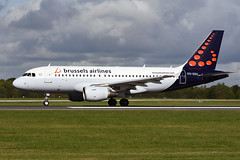 OO-SSV Airbus A319-111 EGCC 24-09-18 (MarkP51) Tags: oossv airbus a319111 a319 brusselsairlines sn bel manchester ringway airport man egcc england airliner aircraft airplane plane image markp51 nikon d7200 sunshine sunny nikon70200f4vr