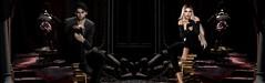 Forever Waiting For Eachother (Lance Carthage Lock) Tags: rose roses ro jarsephora halloween blood vampire light shadow dark shadows love amor second life secondlife books sl virtual world romance female male girl boy fash fashion gothic black outfit blonde blog blogging blogger lance ricci lock carthage goth bloody scene scenery window castle