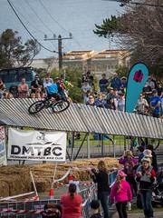 Ramp rider and spectators (Man+machine) Tags: mountainbikes southernmtb pushbikes albany amazingalbany