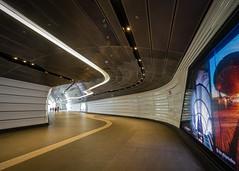 tunnel-3 (Mariasme) Tags: sydney wynyard pedestrian tunnel asplashofred challengeyouwinner pathway cy2