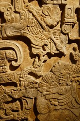 about 725 Lintel 25 from Yaxchilan (mark.wohlers) Tags: 725 lintel yaxchilan carving maya ladyxoc lady trance visionary bloodletting serpent spear lancet stingray