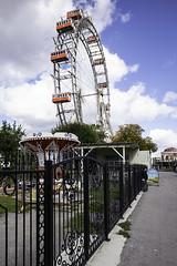 Wiener Riesenrad (Terrycym) Tags: austria vienna flickrclickx prater wienerriesenrad viennagiantwheel ferriswheel thethirdman europe