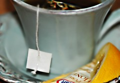 ~Cough...cough... (nushuz) Tags: macro teacupcropped teabag honey lemon hottea macromondays remedy sometimesalittlewhiskey hmm happymacromondays