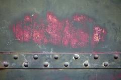 Preuve à divulgation nulle de connaissance (Gerard Hermand) Tags: 1801271388 gerardhermand france versailles canon eos5dmarkii abstract abstraction abstrait metal rouille rust rivet assemblage