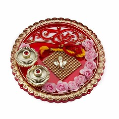 Traditional Plate (Thali) For Festive Season (mywowstuff) Tags: gifts gadgets cool family friends funny shopping men women kids home
