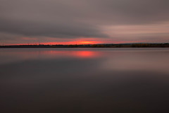 Strange Days (mclcbooks) Tags: landscape lakescape seascape clouds longexposure lake water reflections sunrise dawn daybreak lakechatfield colorado
