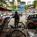 Hanoi morning, cyclos