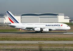 F-WWSE Airbus A380 Air France (@Eurospot) Tags: fwwse fhpjb airbus a380 lfbo toulouse blagnac airfrance