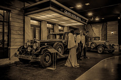 The golden 20's and 30's (Peter's HDR hobby pictures) Tags: petershdrstudio hdr classiccar horch klassiker oldtimer car auto sepia