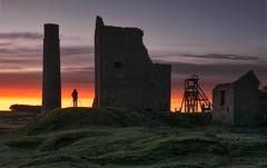 Dawn's All Mine (Captain Nikon) Tags: magpiemine leadmine mine ruins derbyshire thepeakdistrict england silhouettes sunrise dawn nikonphotography landscapephotography