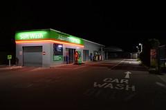 Car Wash (davidvines1) Tags: carwash car wash building neon night
