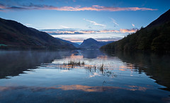 Buttermere sunrise (Alf Branch) Tags: buttermere landscape lakes lakedistrict lake lakesdistrict leicadg818mmf284 sunrise cumbria clouds cumbrialakedistrict calmwater westcumbria water refelections reflection alfbranch olympus omd olympusomdem5mkii panasonic