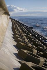 Sea View (Daniel Kearney) Tags: blackpool fyldecoast lancashire northwest sea sand promenade wave bluesky nikon d80 danielkearney digital colour seafront seadefences seawall southbeach