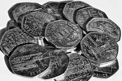 Money Money Money! 😀 (LeanneHall3 :-)) Tags: blackandwhite mono closeup closeupphotography money challenge canon 1300d
