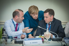 A23A8739 (More pictures and videos: connect@epp.eu) Tags: epp summit european people party brussels belgium october 2018 manfred weber angela merkel chancellor germany david mcallister vice president