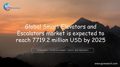 Global Smart Elevators and Escalators market is expected to reach 7719.2 million USD by 2025 (QYResearchOfficial) Tags: smartelevatorsandescalators qyresearch qyrmarketreport industryanalysis marketresearch qyr database marketreport marketresearchreport indusrtyreport wwwqyresearchcom qyrreport marketanalysis marketsurveyandresearch