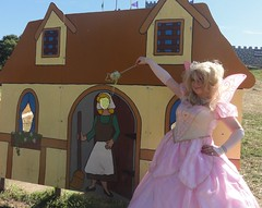 Dreams come true! Your face here! (rgaines) Tags: costume cosplay crossplay drag fairyprincess fairygodmother coxfarms cinderella