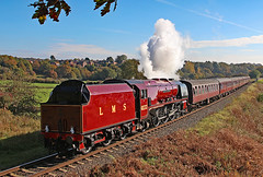 If Only...... (gareth46233) Tags: 6233 duchess sutherland burrs elr east lancs lancashire railway lms red