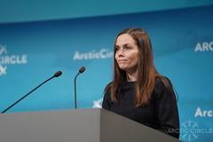 Prime Minister of Iceland Katrín Jakobsdóttir (arctic_circle) Tags: arcticcircle arctic iceland