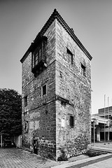 Feudal Tower in Skopje - end of XVII or beginning of XVIII century     Old Skopje people remember that around the tower existed threshing floor, where the feudal lord had collected agricultural products (AMANITO) Tags: amanito macedonia petrovski skopje vase васе петровски аманито скопје македонија vaseamanito building fotografija architecture photography architactural construction facade structure town old europe white landmark modern wall window texture easterneurope photograph squares tower feudal turkish