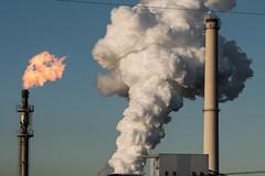 Kokerei (stapel2) Tags: kokerei schwelgern duisburg ruhrgebiet gasfackel dampf