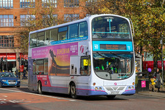 37200 SF07FEP First Glasgow (busmanscotland) Tags: 37200 sf07fep first glasgow sf07 fep volvo b9tl wright eclipse gemini