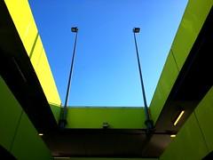 Parking view (Yann_photographie) Tags: france géantannemasse annemasse architecture light sky parking