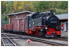 Fichtelbergbahn - 2018-01 (olherfoto) Tags: bahn eisenbahn schmalspurbahn fichtelbergbahn dampflok dampfzug sachsen erzgebirge vonat vasut kisvasut rail railway railroad narrowgauge steam train steamtrain canoneosm50