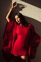 Excessive Me (aminefassi) Tags: portrait fashion beauty red reddress people windowlight sony a7riii mode 85mmf18