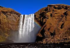 Skogafoss Waterfall, Iceland (klauslang99) Tags: klauslang nature naturalworld skogafoss iceland waterfall water europe