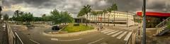 Hospital Vithas Xanit Internacional de Benalmádena (woto) Tags: vithas xanit benalmádena hospital hdr cielo sky málaga spain panorama panoramic carretara árbolhierba palmeras