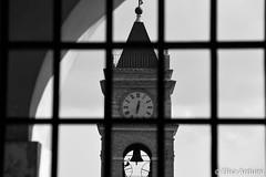 Tower (ElisaArduini) Tags: fumone frosinone italia italy orologio torre monocromo architettura chiesa church photography fotografia flickr photo photos foto nikon d3200 nikond3200