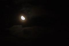 Cloud faces Moon (Sculptor Lil) Tags: cloudface pareidolia moon waninggibbous london canon700d clouds