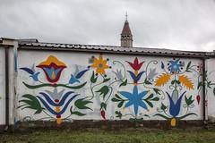 Władysławowo Graffiti 01 - Kashubisk mønster og symbolik (Walter Johannesen) Tags: graffiti władysławowo kashubisk mønster og symbolik