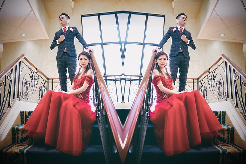 婚禮攝影 [鵬仕❤洪嫣] 訂結之囍@台中寶麗金市政店