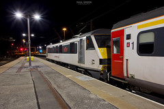 90002 at Norwich 28/8/2018 (Paul-Green) Tags: class 90 90002 norwich railway train station b bulb setting night photography aga abellio greater anglia flickr canon camera uk gb railways electric loco engine stock platform