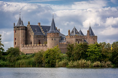 Beuatiful Muiden Castle [Muiden, The Netherlands - 2018] (Jose Constantino Gallery) Tags: amsterdam architecture beautiful brick bridge budapest building castle city europe fortress gothic historic historical history holland house hungary lake landmark medieval muiden netherlands old outdoor park river sky tourism tower travel view wall water