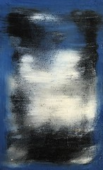 Waltz (Kate O'Kina) Tags: waltz abstract paintings paint modernart contemporaryart blue ultramarine white black oil painter artist art