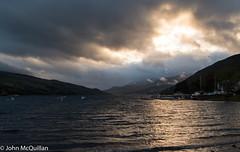 Loch Tay (J-McQuillan) Tags: scotland loch tay water scenery clouds