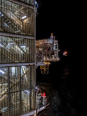 Darkness and Light (Craig Hannah) Tags: northsea oilrig platform offshore night nightphotography light lights scotland gas oil darkness craighannah october 2018 uk sea water industry industrial nightshift longexposure steel stairs