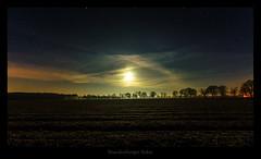 Feld (Rukiber) Tags: deutschland brandenburg germany oderbruch nachtaufnahme night natur skarry sky moon nightimages nature nacht