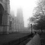 York Minster on a Misty Morning