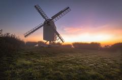 Chillenden Windmill (jor5472) Tags: uk outdoors landscape greatbritain britain england flickr wideangle nikon sunrise kent chillenden windmill