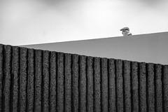 Urban Chronicles (jeffclouet) Tags: paris france europe capital nikon nikkor d7100 rue street calle ville cuidad city downtown monochrome bnw nb pb bw blackandwhite alone seul solo soledad people stairs staircase escaleras escalier streetshot streetphotography urbain urban urbano urbanphotography beaugrenelle geometric geometrico bystanders symmetry lines modern moderne moderno minimal minimalism walking urbanlife streetview noiretblanc