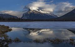 Hockey anyone ? (Robert Grove 2 (on tour)) Tags: banff ice rundle canada robertgrove landscape