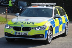 GX66 CUV (JKEmergencyPics) Tags: surrey police bmw 530d 330d touring auto estate emergency response 999 vehicle car area policing team apt incident irv patrol gx66 cuv