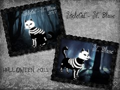 flicker st. Blanc (Sonix_Andretti) Tags: skelecat kittycats blanc rare special collection helloween