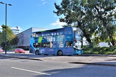 UniLink 1230 (stavioni) Tags: goahead group bluestar southampton double decker bus unilink 1230 adl alexander dennis enviro 400 mmc hf18ffr