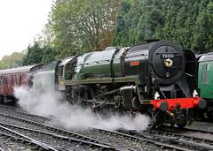 70000 Britannia BR Standard 7P6F 4-6-2 (Keith B Pics) Tags: svr keithbpics steamgala steamloco severnvalleyrailway 70000 britannia bridgnorth highley brstandard sratford 30a crewe norwich 5a 32a pacific 462